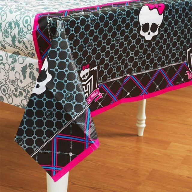 Monster High Birthday Party Supplies TableCloth Table Cover 137cm x 244cm