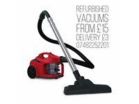 Dirt devil cylinder vacuum Hoovers warranty & delivery