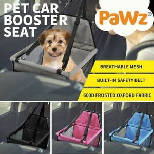 NEW PaWz Dog Pet Car Booster Seat Puppy Auto Carrier Travel Protector