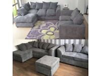COUCHES ON SALE DYLAN JUMBO CORD CORNER AND 3+2 SEATER SOFA AVAILABLE IN STOCK