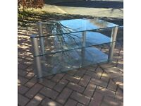 Glass TV Stand ** Very Heavy **