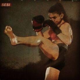 Women only Kickboxing class