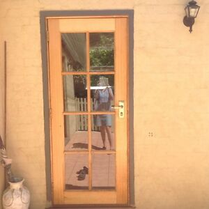 8-pane Timber door Bowral Bowral Area Preview