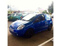 Bargain Metallic Blue Citroen c2 1.1