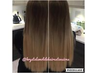 Micro ring hair extensions & Nano ring hair extensions - Mobile service