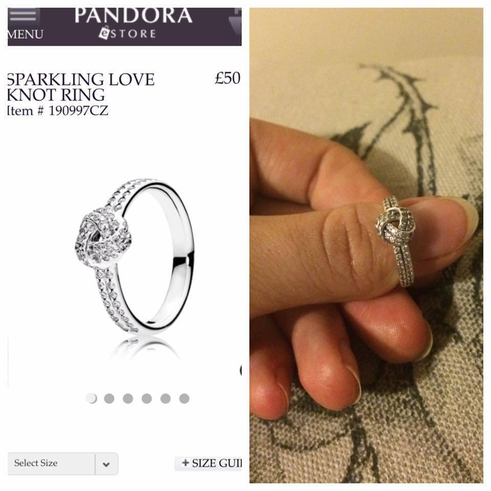 9b1e5843e ... inexpensive pandora sparkling love knot ring size 52 sterling silver  cubic zircona 1e9a4 a0253