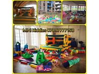 Soft play and bouncy castle hire in East London