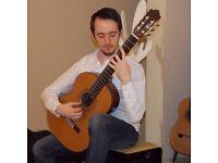 Top qualified Guitar teacher, East Kilbride/Glasgow
