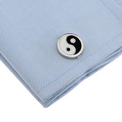 Symbol Cufflinks Cufflinks - 1 pair Tai chi symbol cufflinks,yin and yang cufflinks,taiji symbol cufflinks