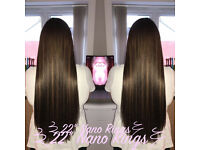Mobile Hair Extension Technician - Nano ring and Celebrity Weave method. 100% Human Remy Hair