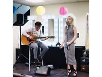 Soul/Jazz acoustic duo - Melissa and Reece - available for weddings and other function events