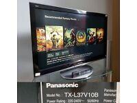 "Panasonic TX-L37V10 TV 37"" Full HD 1080p LCD screen"