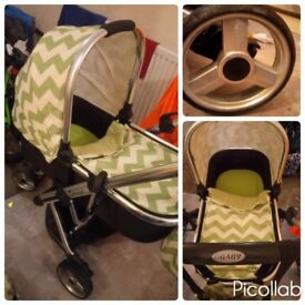 Beautiful obaby travel system