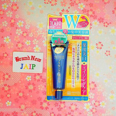 Meishoku☆Japan-Placenta Whitening Medicated Eye Cream 30g ,JAIP.
