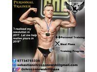 Edinburgh Personal Trainer, Personal Training, Meal Plan.