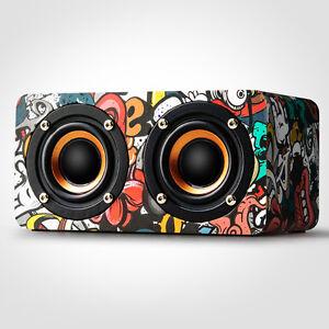 Mini-Wooden-Wireless-Bluetooth-4-0-Speaker-Portable-Stereo-Bass-Music-Speakers