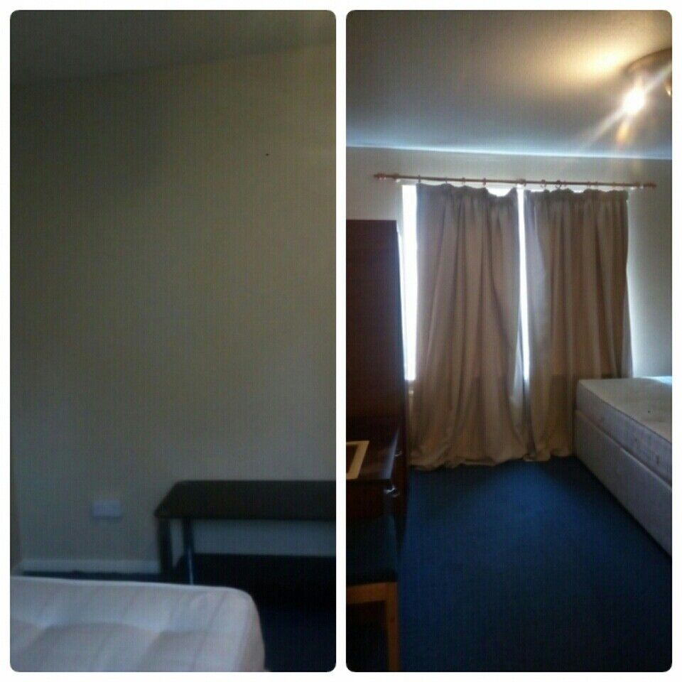 Hi, Nice and bright double size bedroom is available now for single occupant 550pm inc bills+ wifi