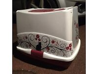 Cat / kitten litter tray box toilet lid