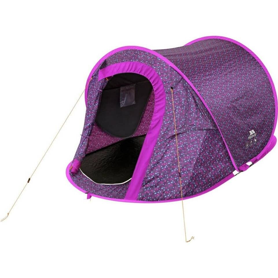 TRESPASS 2 Man 1 Room Pop Up Tunnel Camping Festival Tent ARGOS RRP £30 | in Islington, London | Gumtree