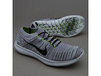 Nike free Run motion flyknit Size UK 10.5