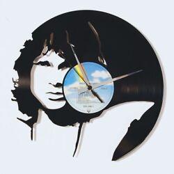 Jim Morrison Vinyl Record Wall Clock Home Decor Fan Art