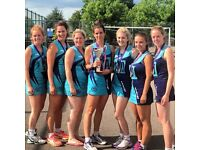 Netball Players wanted, to play at a high Level for County First Division 'Hertfordhsire'