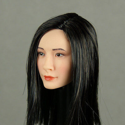 1 6 Scale Phicen  Hot Stuff Female Stainless Steel Body Asian Head Sculpt S09