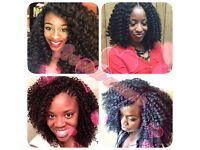 Afro- Caribbean mobile hair stylist