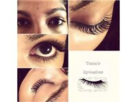 eyelashes extensions eyelash