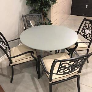 Outdoor Dining Table With 4 Chairs