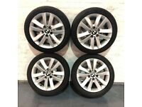 GENUINE BMW STYLE 141 17inch ALLOY WHEELS