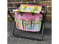 Folding Garden Stool With Storage (New/Unused) - 3 x available