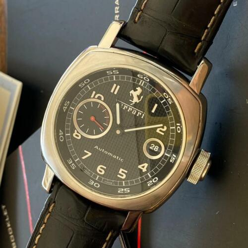 PANERAI FERRARI AUTOMATIC REF. FER0001 CHRONOGRAPH WATCH 100% GENUINE PAPERS - watch picture 1