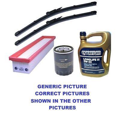Oil,Air,Filters,FRONT,REAR WIPERS Skoda Fabia Praktik 1.2 Petrol KIT