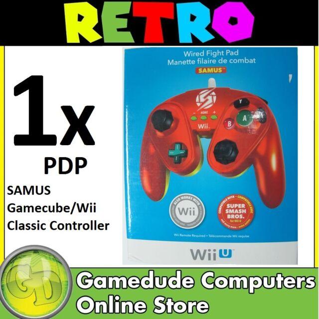 PDP SAMUS Gamecube/Wii Classic Controller MODEL : 085-006-EU-SA [F03]