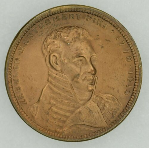 1906 Pikes Peak Colorado Southwest Exposition So Called Dollar HK 338 Bronze UNC