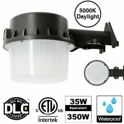 Dusk To Dawn Barn Light LED Photocell Outdoor Waterproof Yard Security Lamp 5000