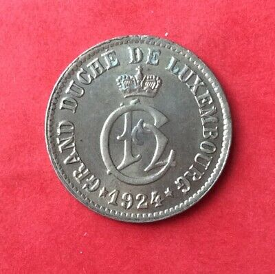 Luxembourg - Magnifique monnaie de 5 Centimes 1924