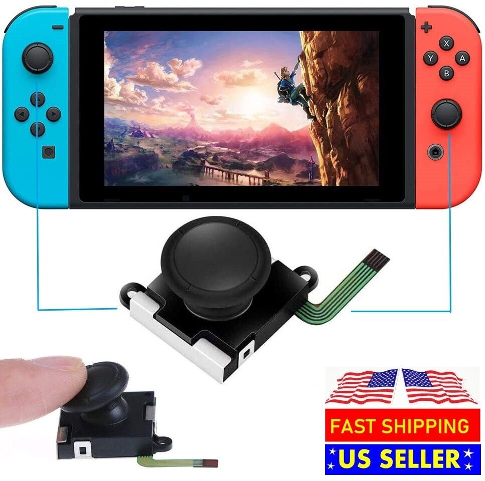 Analog Joystick Thumb Stick Replacement For Nintendo Switch Joy-con Controller Replacement Parts & Tools