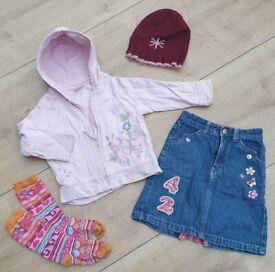 Bundle of girl's clothes, H&M, Next; charity sale