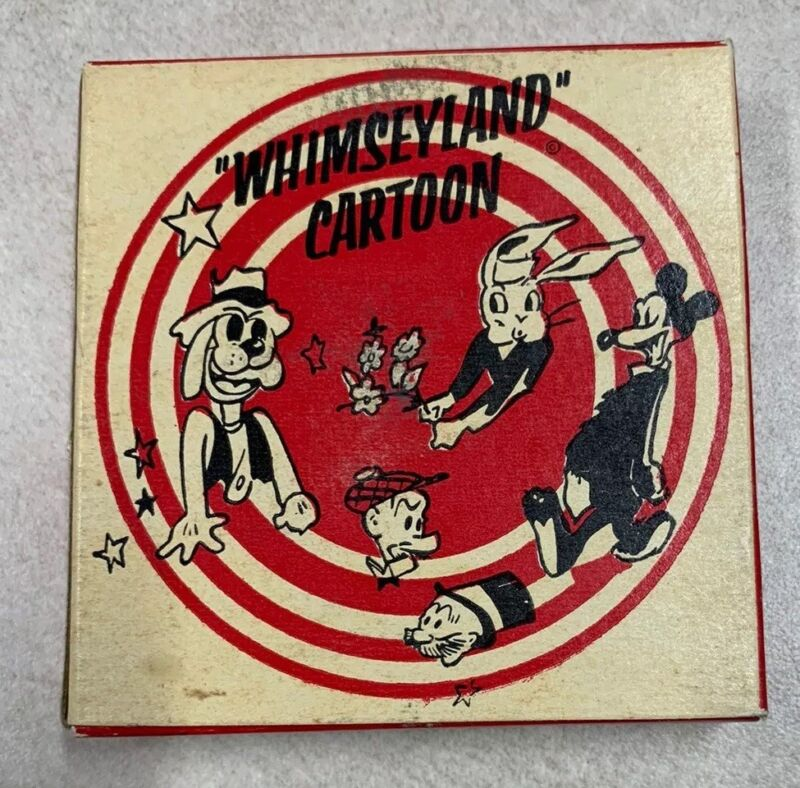 """8mm Whimseyland Cartoon Popeye """"The Champ"""""""