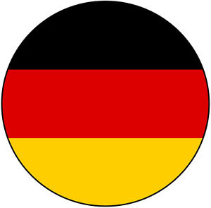 Germany/German Flag Car Tax Disc Holder - Fun Novelty REUSABLE Gift - Brand New