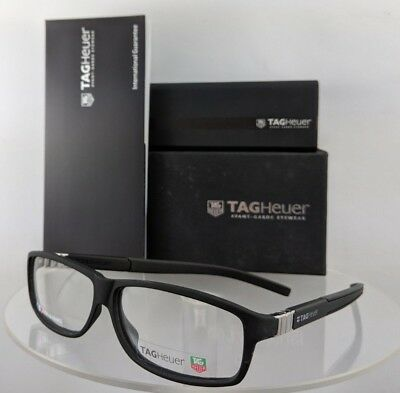 426b0ce1c8194 Brand New Authentic TAG Heuer Eyeglasses TH 9313 001 LEGEND 61mm Frame  France