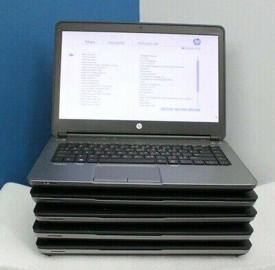 Lot of 5 hp ProBook mt41 AMD A4-4300M 2.50Ghz 4GB Ram No HDD/Adapter