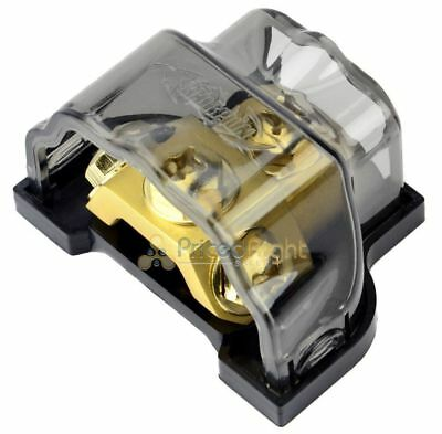 New Power Ground Ring Terminal Distribution Block Universal 8 4 2 0 Gauge In Out