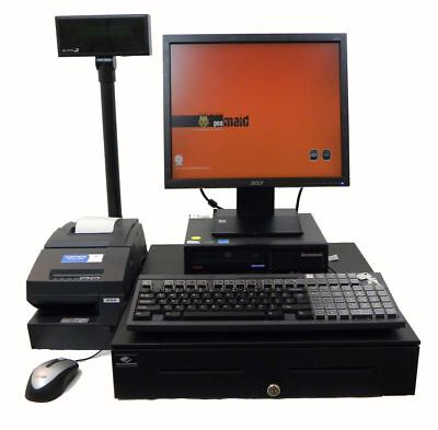 Full Touch Screen Cash Register Point Of Sale Lenovo 2.6Ghz WinXP & POS Softwr for sale  Osage Beach