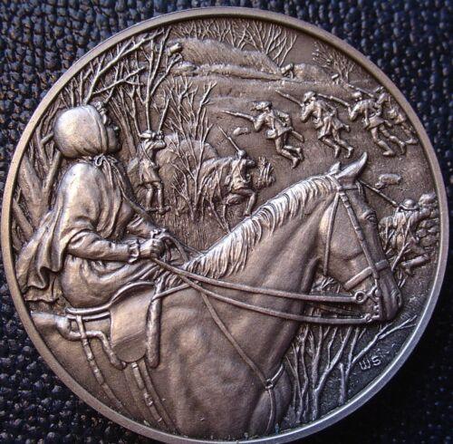 DAR Medal - ELIZABETH PAGE STARK Revolutionary War Great Women