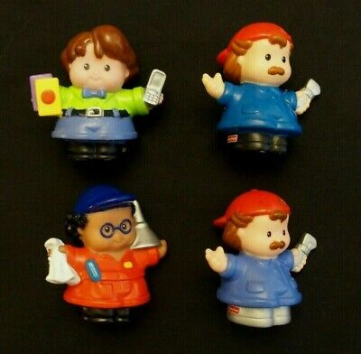 Fisher Price Little People Community Helpers LOT Preschool construction paint