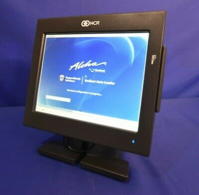 Ncr P1230 7743 Pos 12 Touchscreen Terminal Aloha Radiant W 30 Day Warranty