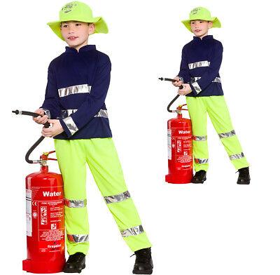 Kostüm Feuerwehrmann Billy -Firemann Kinderkostüm 3 bis 10 Jahre - Feuerwehr